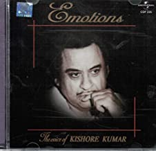 Emotions The Voice Of Kishore Kumar (Brand New Single Disc Audio Cd, Released By Universal Music India)