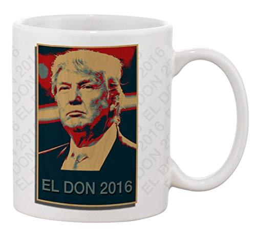 N\A Taza de café de cerámica - EL Don 2016 - Diseño de Parodia del Candidato Presidencial