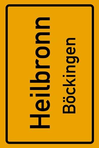 Heilbronn Böckingen: Deine Stadt, deine Region, deine Heimat! | Notizbuch DIN A5 liniert 120 Seiten Geschenk