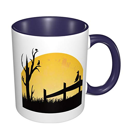 Ceramic Coffee Mug Cup for Water Tea Drinks Pumpkin-Carving-Creative-Halloween For Thanksgiving