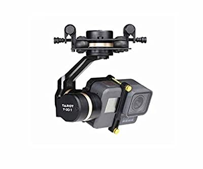 Tarot TL3T05 3D? Metal FPV Brushless Gimbal for GOPRO 5 RC Quadcopter Multicopters by Hobby-Wing
