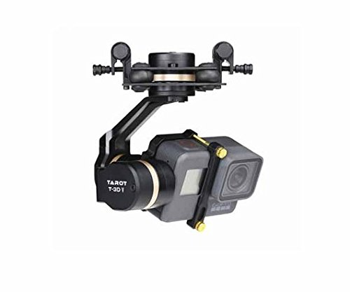 Tarot TL3T05 3DⅣ Metal FPV Brushless Gimbal for GOPRO 5 RC Quadcopter Multicopters