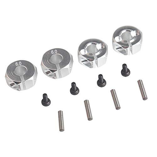 Adaptador Hexagonal de buje de Rueda de Aluminio Universal de 12 mm...