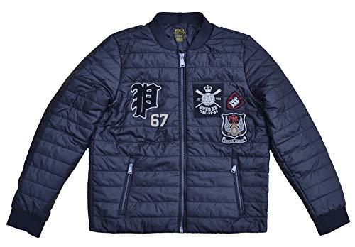 Ralph Lauren Damen Steppjacke Jacke Patch Jacket Schwarz (M)