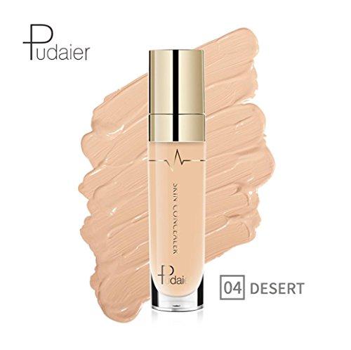 Anti-cernes, Malloom Concealer Oeil de visage Fondation Surligner le contour Stick liquide Maquillage Crème naturelle (04#)