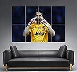 Buffon Juventus Poster Best Goal Wall Art A0