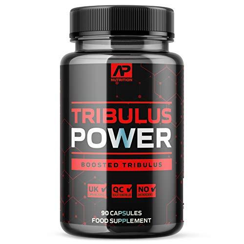 Tribulus Power for Men (90 Capsules) - Potent Blend with Tribulus Terrestris, Zinc and Saw Palmetto