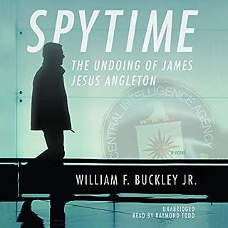 Spytime audiobook cover art