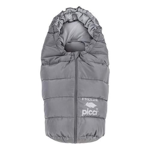 Picci Freeze ganzenveren voor babyschaal en kinderwagen -S175 grijs