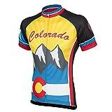 Peak 1 Sports Colorado Men's Cycling Jersey 2XL - Men's Yellow