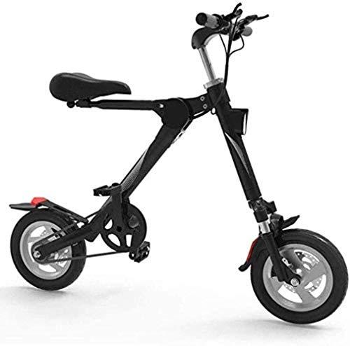 Elektrisches Fahrrad, Aluminium Rahmen Adult Mini Folding Elektro-Auto-Fahrrad Zweirad-Mini Pedal Electric Car-Lithium-Batterie Fahrrad im Freien Abenteuer