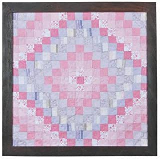 King Trip Around The World Pink Lilac Miniature Quilt