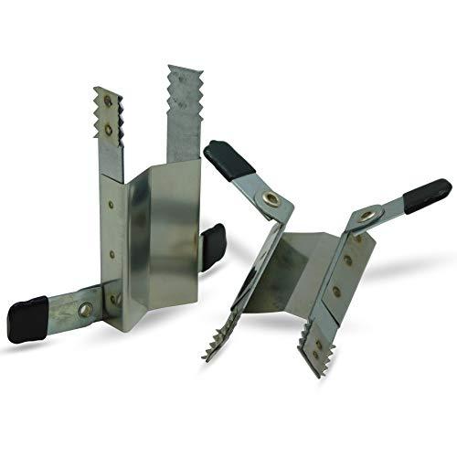 Klemmsicherung für Rolladen Rolladensicherung Fenstersicherung günstig & effektiv 2 Stück für 1 Fenster