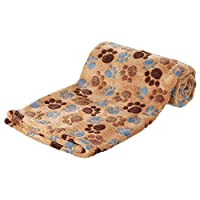 Very nice laslo fleece blanket for dogs Made of soft fleece Extra soft and cuddly blanket Protects furniture from dirt and pet hair