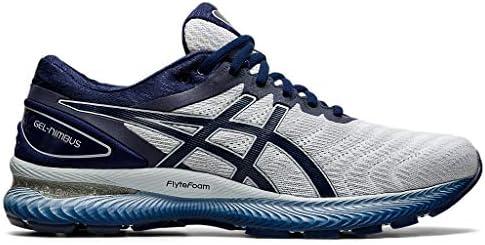 ASICS Men s Gel Nimbus 22 Running Shoes 10 5M White Peacoat product image