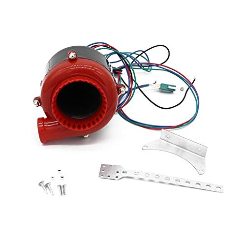 WANGXINQUAN Racing Electronic Turbo Coche Válvula de Descarga Electrónica Turbo Blow Off Off Turbo Electric Turbo Blow Off Sound Analog Bov