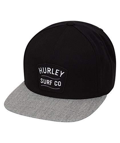 Hurley M Derby Hat Gorras, Hombre, Black, Talla Unica