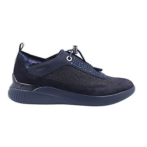Geox Sportschuhe für Damen D948SA 0DV22 D THERAGON C4226 Navy Schuhgröße 36