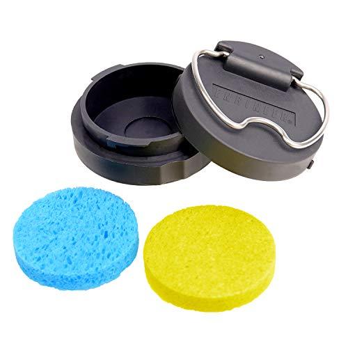 Limpiador de esponja portátil con punta de soldador para ca