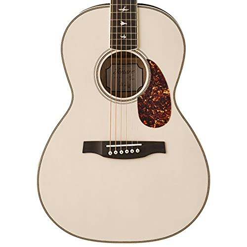 PRS Limited Edition SE Parlor P20E Acoustic-electric Guitar - Antique White