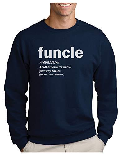 Green Turtle Sudadera para Hombre - Regalo para mi Tio - Funny Uncle Funcle Definition Gift For Uncles