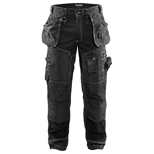 Blåkläder 15001370 Werker Hosen X1500, Schwarz, C52