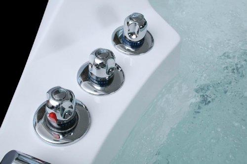 Luxus Whirlpool Badewanne 152×152 mit Vollausstattung (Massage) - 5