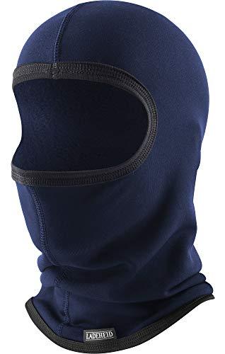 Ladeheid Hombre Pasamontañas Máscara de Esquí Termoactiva SILVERPLUS LA-146 (Marine,...