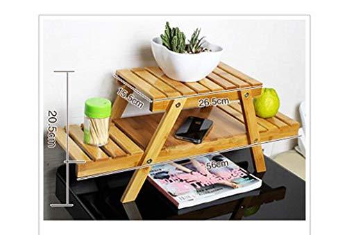 LILICEN Estantes de escritorio, estanterías simples de oficina, estantes de los estudiantes, estantes de escritorio, bastidores de almacenamiento, bastidores de acabado, vajilla, estanterías de flores