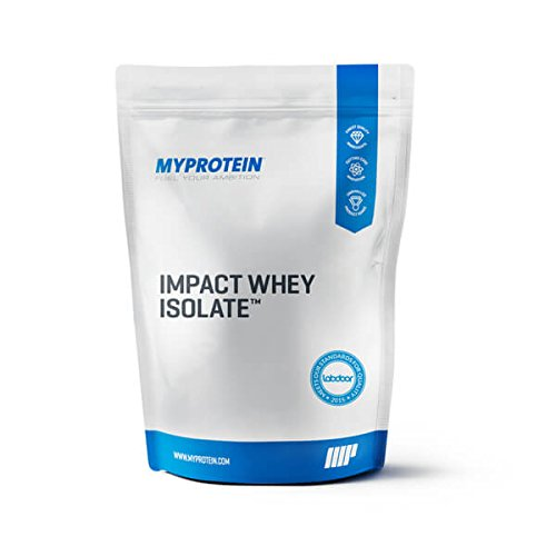 Myprotein® Impact Whey Isolate Protein Powder, Gluten Free Protein Powder, Muscle Mass Protein Powder, Dietary Supplement for Weight Loss, GMO & Soy Free, Whey Protein Powder, Mocha, 2.2 Lbs