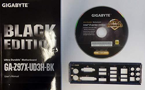 Gigabyte GA-Z97X-UD3H-BK Handbuch - Blende - Treiber CD