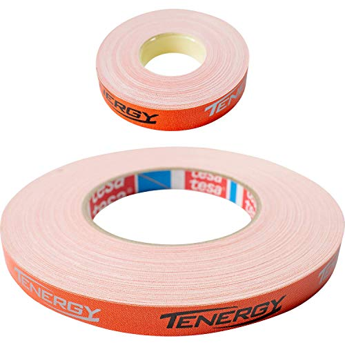 Butterfly Side Tape Tenergy Orange - 12mm Width - Side Tape to Protect The Edges of Your Rubber and Blade for Table Tennis/Ping Pong Paddles - Available in 10m (20 Rackets) and 50m (100 Rackets)