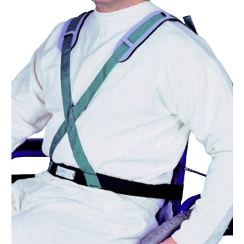 Sicherheits-X-Gurt OXALIS f. Rollstühle, Gurte und Fixierungen