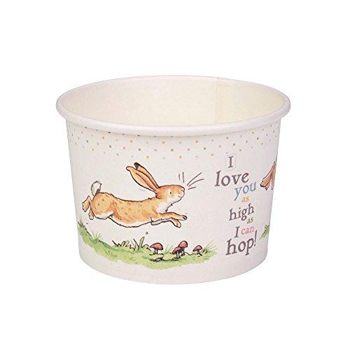 Neviti Guess How Much I Love You Lot de 8 Pots à friandises pour Enfants