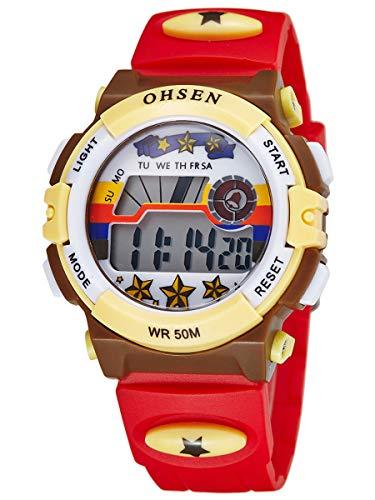 Alienwork Reloj Infantil Digital Niña Impermeable 5 ATM