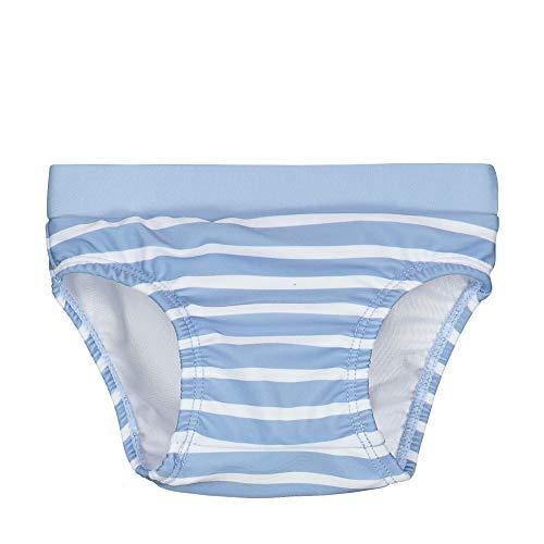 Steiff Schwimmwindel Couche Culotte De Bain, Bleu (Forever Blue 6027), 52 (Taille Fabricant: 050) Bébé garçon