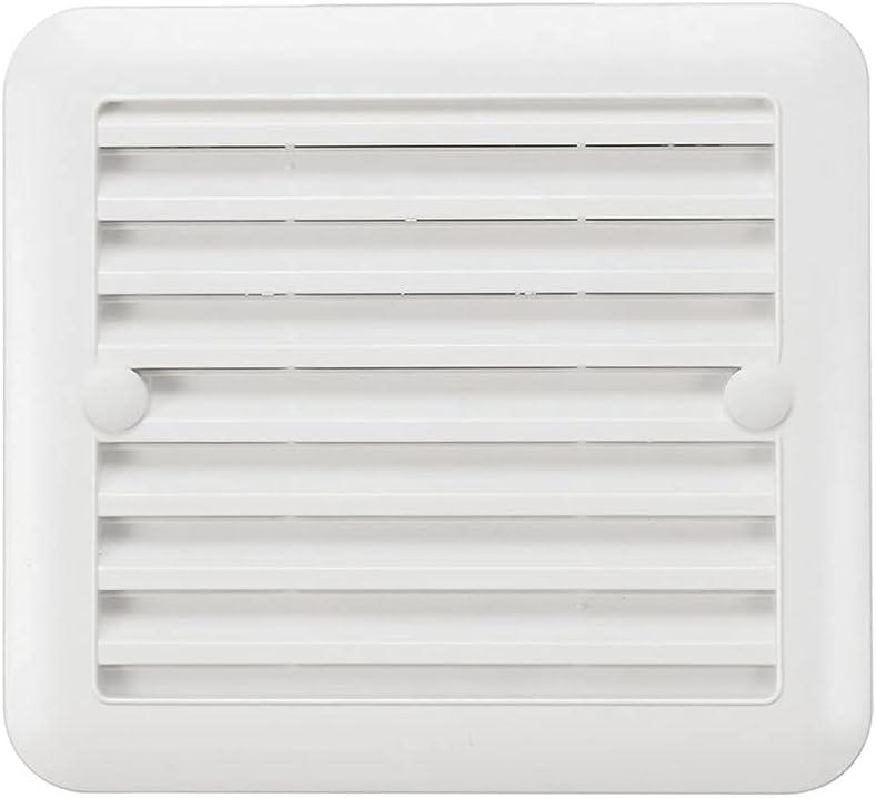 Extractor de baño silencioso a Prueba de Agua, Ventilador de Escape, Ventilador Fuerte, ventilación Lateral para Ventiladores de ventilación de Ventana de Inodoro RVs