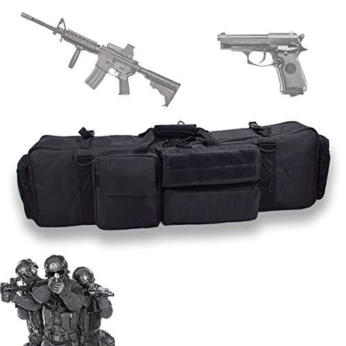 EnweLampi Tragbarer Gewehr Weichkoffer, wasserdichte Waffentasche Gun Bag, Zur Aufbewahrung Von Gewehren Tactical Carbine Wasser Und Staubdicht Jagd SchießEn