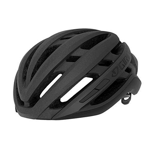 Giro Agilis Casco de Ciclismo Road, Unisex Adulto, Matte Black, M   55-59cm