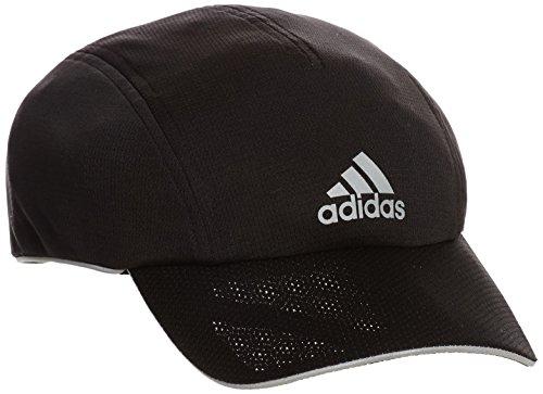 adidas Erwachsene Kappe Run NO Fly Cap, Black/Reflective Silver, OSFM