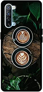 حافظة واقية لهاتف Oppo Reno 3 5G Girls Boys Men Women غطاء خلفي ممتص للصدمات 2 كوب قهوة