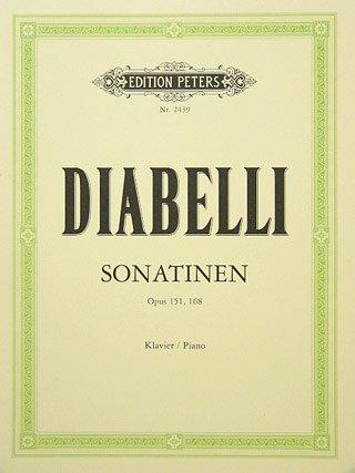 SONATINEN OP 151/168 - arrangiert für Klavier [Noten / Sheetmusic] Komponist: DIABELLI ANTON
