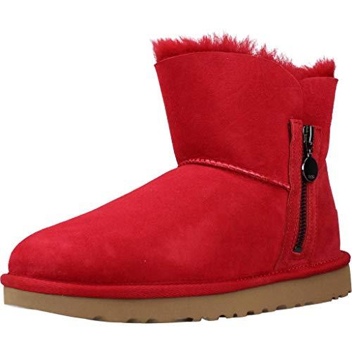 UGG Damen Bailey Zip Mini Klassische Stiefel, Kuss-Design, 37 EU