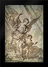 Guardian Angel Framed Art Print by Piola, Domenico