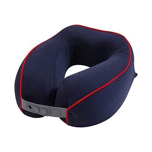 Qric Almohada en Forma de U Coche Almohada for el Cuello en Forma de U Almohada de Viaje en avión Almohada for el Cuello