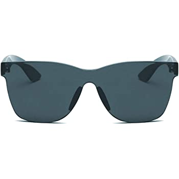 Eyeglass Hergoto Women Fashion Heart-Shaped Shades Sunglasses Integrated UV Candy Colored Glasses BU