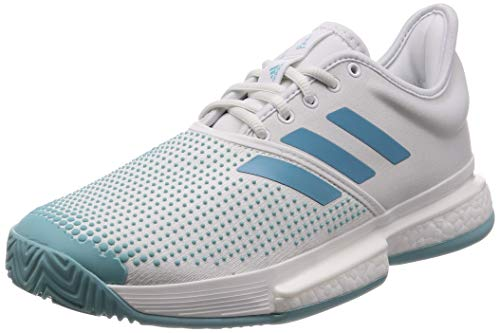 Adidas Solecourt Boost M X Parley, Zapatillas de Tenis Hombre, Multicolor (Multicolor 000), 47 1/3 EU