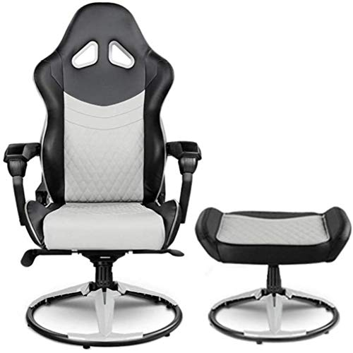 GAOLILI Office Chair With Armrests Office Chair Ergonomics Lounge Chair Footrest Set Gaming Chair Reclining Folding Chair Swivel Rotating Lift Chair