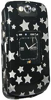 Amzer Snap-On Crystal Hard Case for BlackBerry Pearl Flip 8220, 8230 - Stars Black