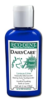 Eco Dent, Toothpowder Lemon Lime, 2 Ounce
